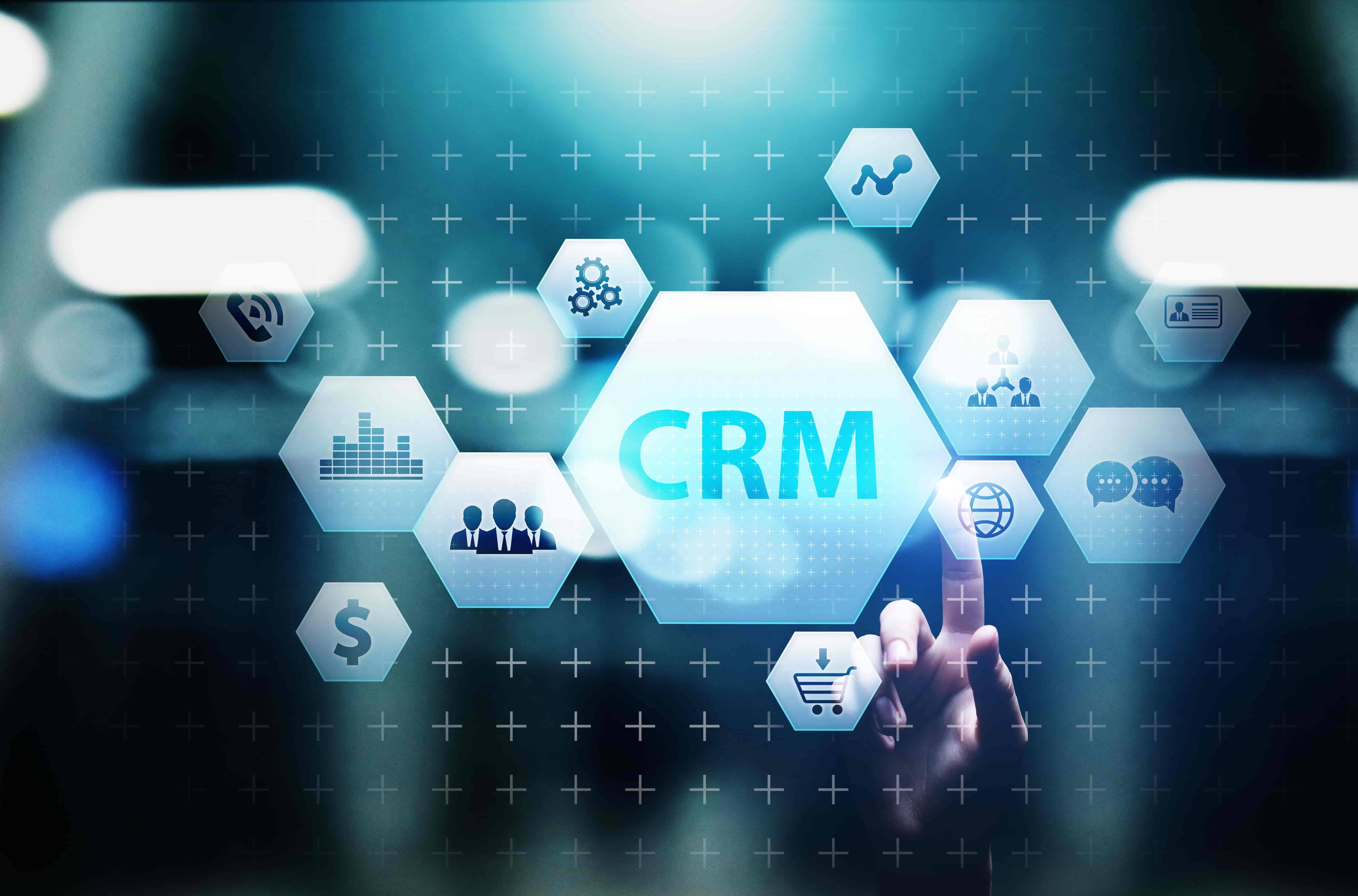CRM application development Irving